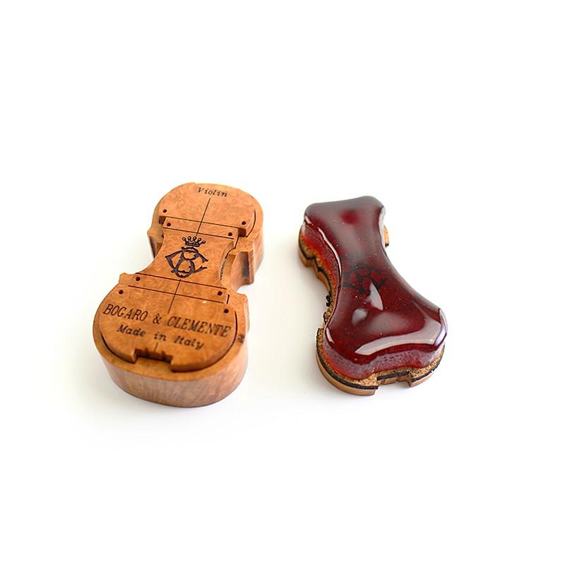 義大利Bogaro&Clemente-小提松香 琴型木盒