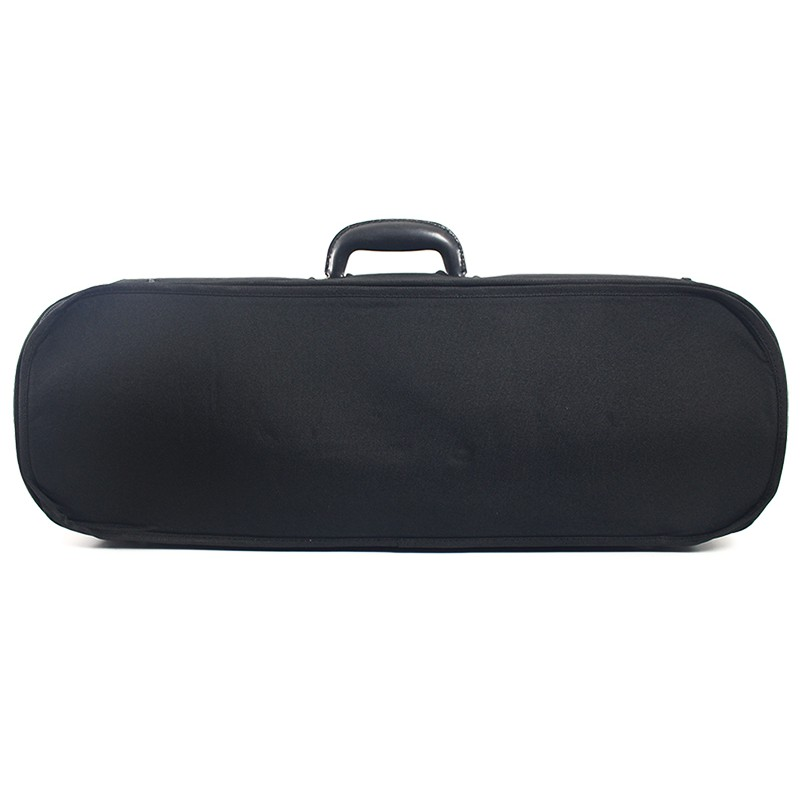 小提琴麂皮花布木盒-TK4-3/4-黑 (特價)